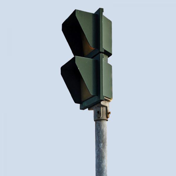 柱立式行人燈